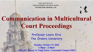 CCL Talk: Communication in Multicultural Court Proceedings