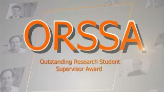 Outstanding Research Student Supervisor Award for Award Presentation Ceremony for Excellence in Teaching, Research and Knowledge Exchange 2014