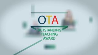 Outstanding Teaching Award for Award Presentation Ceremony for Excellence in Teaching, Research and Knowledge Exchange 2014