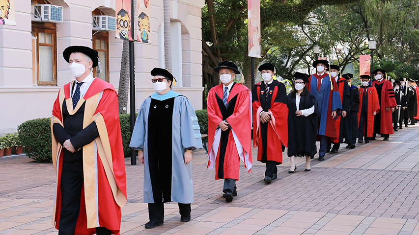 HKU 203rd Congregation for the conferment of degrees on the Class of 2020