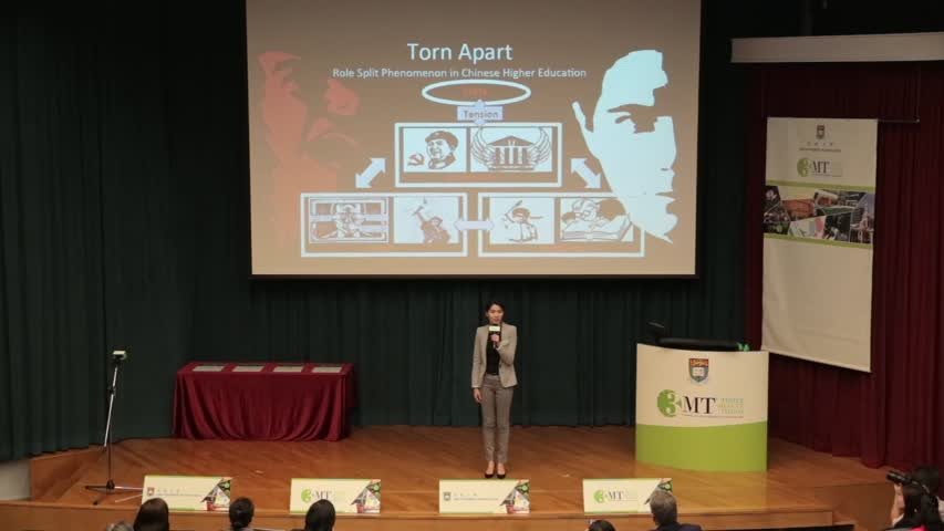 Three minute thesis hku