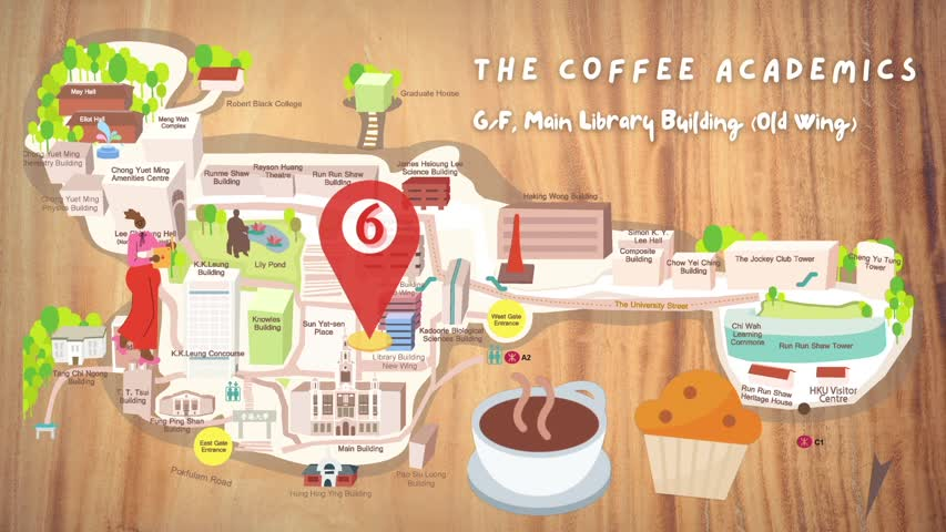 HKU Foodie Trail - Main Campus