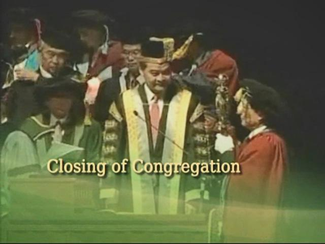 Closing of the Congregation