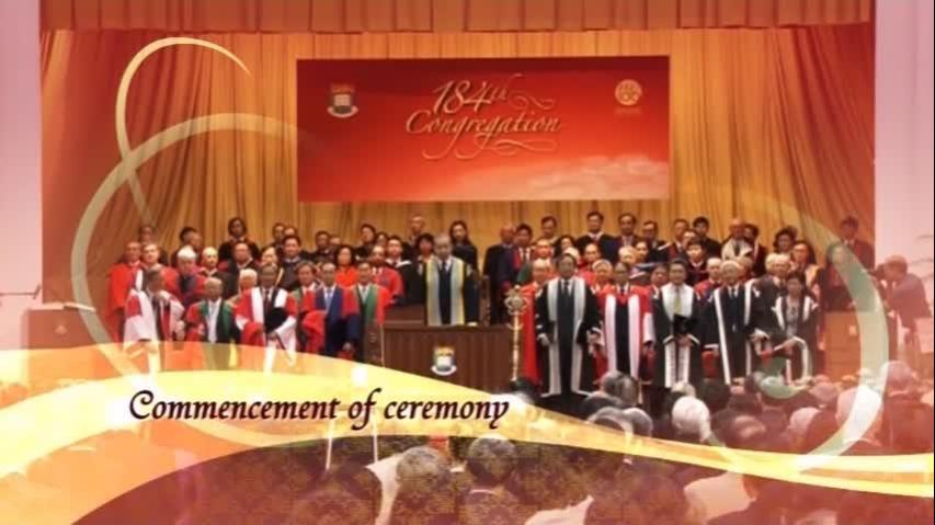 Commencement of the Congregation