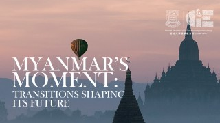 Myanmar's Moment: Transitions Shaping Its Future