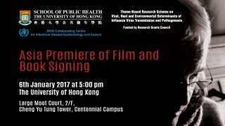 Asia Premiere of Film and Book Signing on Clean Hands Save Lives on 6 January 2017