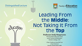 Distinguished Lecture on