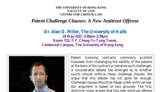 Patent Challenge Clauses: A New Antitrust Offense