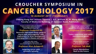 Croucher Symposium in Cancer Biology 2017