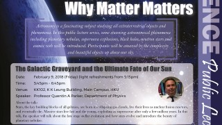 Public Lecture: The Galactic Graveyard and the Ultimate Fate of Our Sun