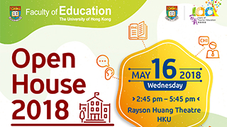 Faculty of Education - Open House 2018