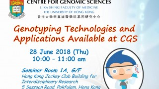 Genotyping Technologies and Applications Available at CGS