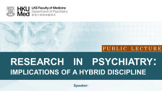 Public Lecture: Research in Psychiatry