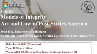 Models of Integrity Art and Law in Post-Sixties America