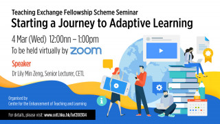 Starting a journey to adaptive learning