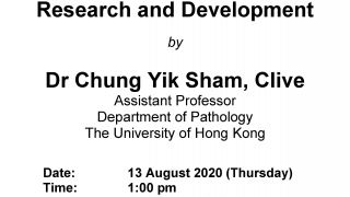 A Seminar by Dr Clive Chung