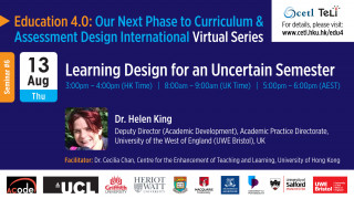 Seminar 6: Learning Design for an Uncertain Semester