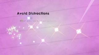 U-Vision Study Tips - avoid distractions