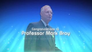 Congratulations to Professor Mark Bray on his new appointment as the UNESCO Chair in Comparative Education
