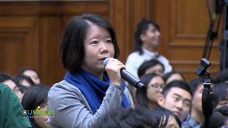 "Professor Lung Yingtai, Minister of Culture of Taiwan, speaks at HKU on ""My Hong Kong, My Taiwan"" Part B"