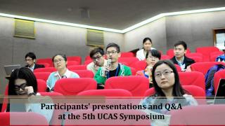 The 5th UCAS Postgraduate Symposium in Taiwan