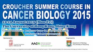 Croucher Summer Course in Cancer Biology 2015
