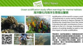 Ocean acidification study offers warnings for marine habitats