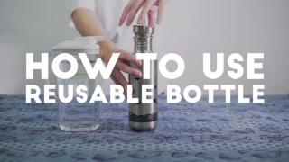 HKU Ditch Dispsoable [#1 How to use Reusable Bottle]