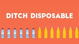Ditch Disposable, Choose Reusable!