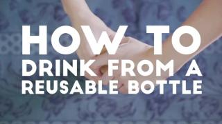 HKU Ditch Disposable [#2 How to Drink from a Reusable Bottle]