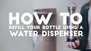 HKU Ditch Disposable [#3 How to Refill your Water Bottles]