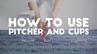 HKU Ditch Disposable [#4 How to Use Pitcher and Cups]