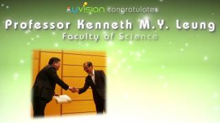 Congratulations to Professor Kenneth M.Y. Leung