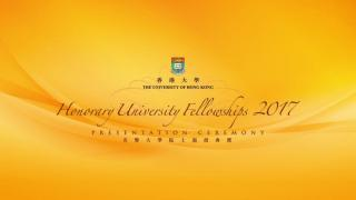 Honorary University Fellowships Presentation Ceremony