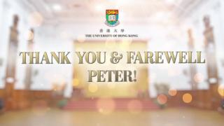 Thank you and Farewell, Peter!