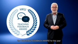 Student-led Teaching Feedback Award 2018