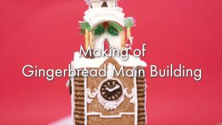 Making of Gingerbread Main Building