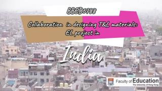 Experiential Learning Project in India (BBED6788)