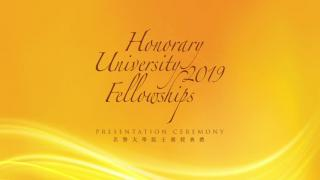 Honorary University Fellowships 2019
