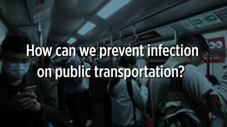 How can I prevent infection on public transportation? (English version)