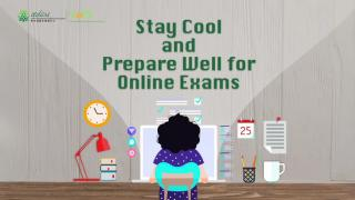 Stay Cool and Prepare Well for Online Exams