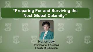 Virtual Forum on Big Ideas Combating COVID-19: Nancy Law