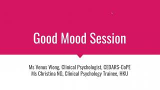 Recap on Good Mood Session (2019/20)