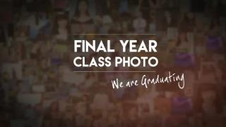 Class of 2020 - Final Year Class Photo