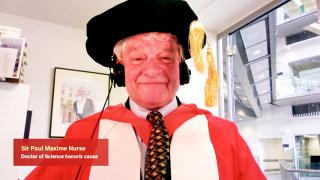 204th Congregation - Session Two - Conferment of Honorary Degree upon Sir Paul Nurse