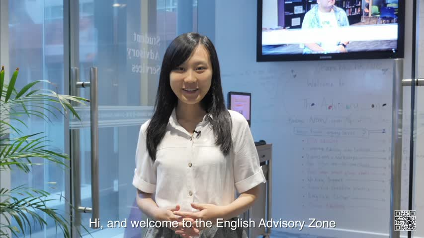Free English support at the Advisory Zone, 2F, Chi Wah Learning Commons